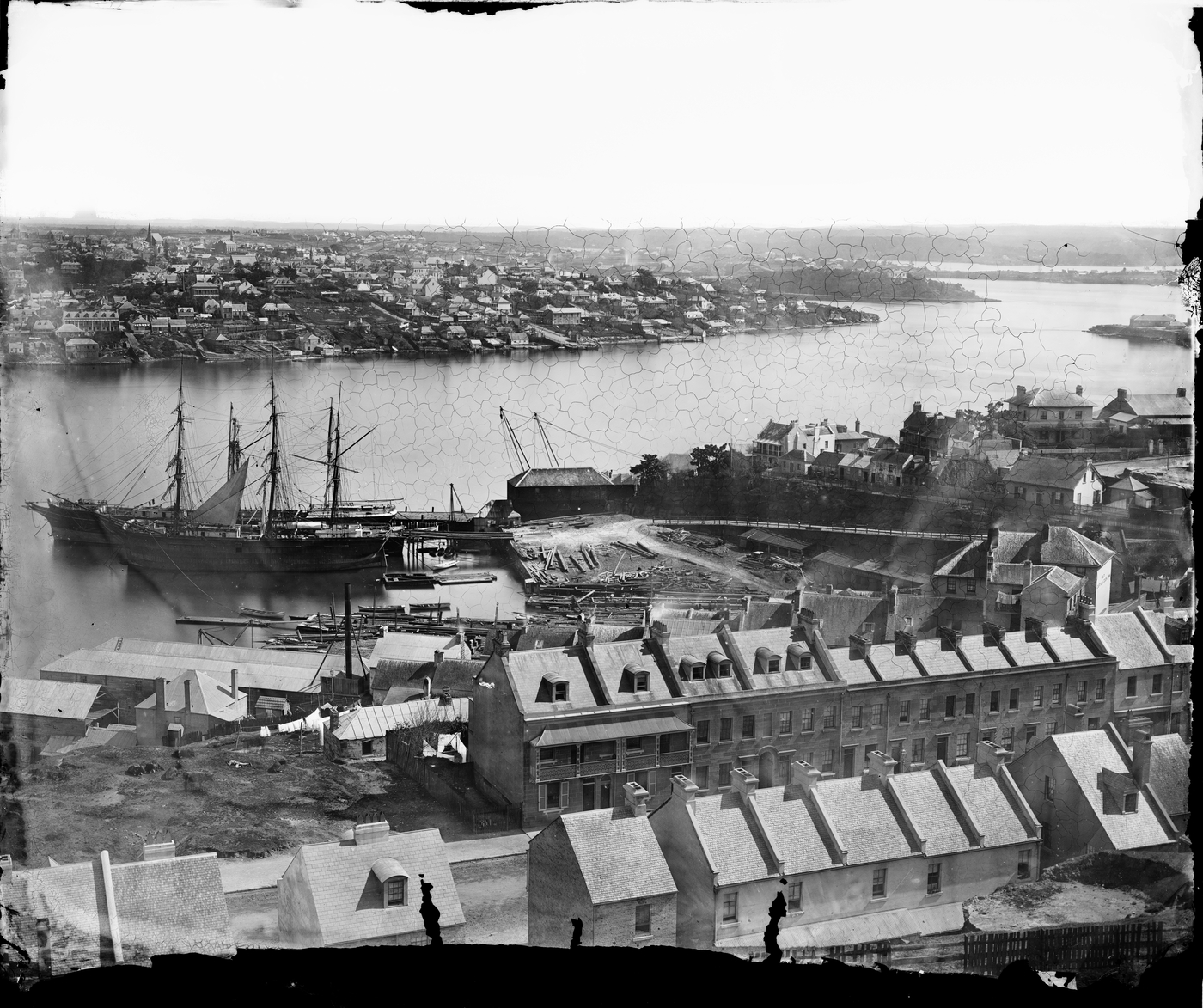 Millers Point and Balmain from the Observatory